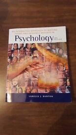 Psychology textbook- An Interactive Approach to Writing Essays and Research Reports in Psychology