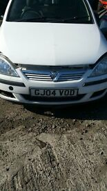 2004 VAUXHALL CORSA 16V CDTI (MANUAL DIESEL) for ports only