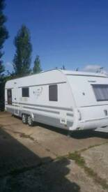 Tabbert 2010 5 berth fixed bed caravan for sale