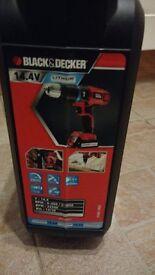 Black & Decker 14.4v Lithium (New)