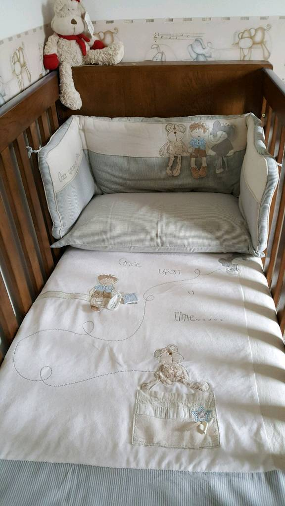 Massive Mamas Papas Once Upon A Time Nursery Bedding Tie Backs Mobile