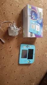 Nintendo 2ds - Pokemon moon limited edition