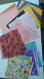 BARGAIN!!!! Job Lot- Papers, Buttons, Decoupage, Beads etc EVERYTHING IN PHOTOS!!!