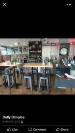 High Table & 4 Stools