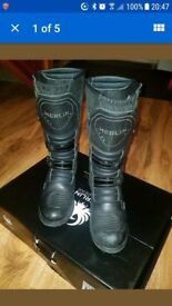 Merlin Enduro Boots Size 8 Motorbike / Motorcycle Boots