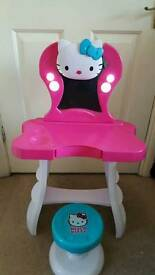 Hello kitty dressing table