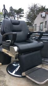 Barbers hairdressing chair