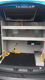 Metal van racking