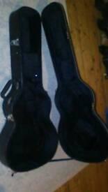 Acoustic guitar hard case