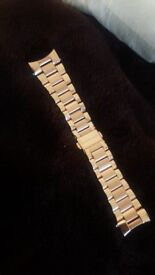 MK5004 only used once rosegold stainless steel watch strap
