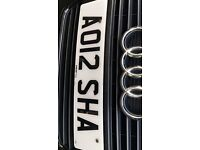 **AISHA NUMBER PLATE FOR SALE**