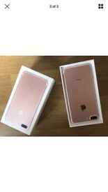 iPhone 7 rose gold on EE