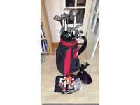 Full Set of Golf Clubs, Bag and Balls
