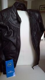 New Butter Soft Real Italian Leather Bomber Jacket