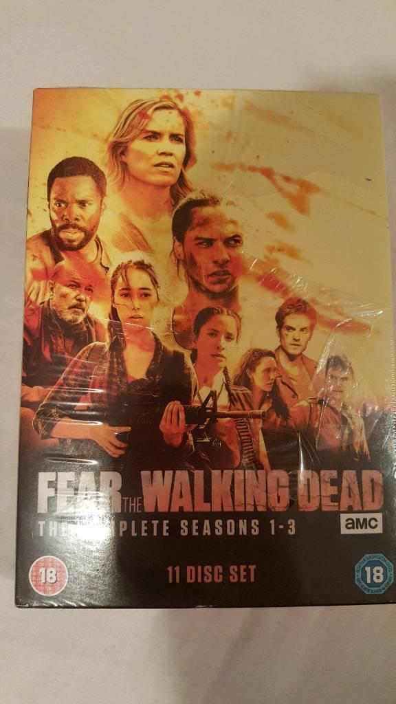 Fear the walking dead seasons 1-3
