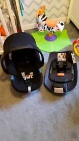 Car seat and Isofix base