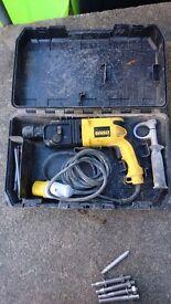 Dewalt 110v rotary hammer drill