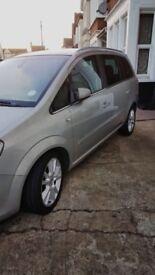 vauxhall zafira 1.9 cdti elite automatic diesel