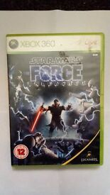 XBOX 360 STAR WARS FORCE
