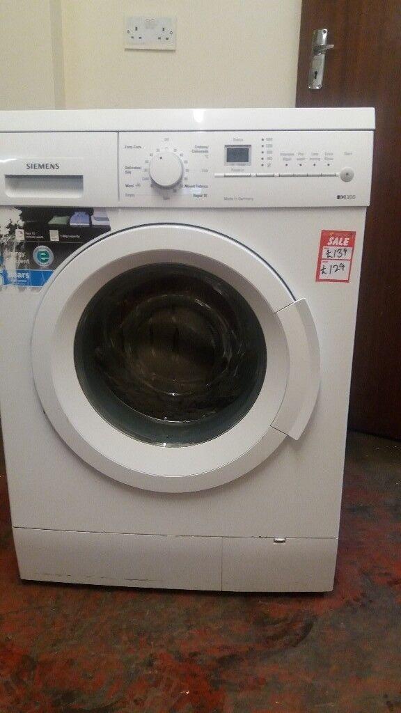 Siemens Iq 300 White Washing Machine Is For Sale 7kg Tested 100