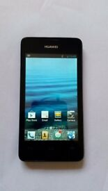 HUAWEI ASCEND Y300 BLACK UNLOCKED dual core ANDROID SMARTPHONE