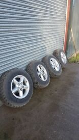 Land Rover Discovery 2 wheels and winter tyres