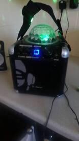 A Bluetooth karaoke