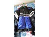 Weise leather jacket