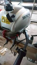 2hp Honda outboard engine
