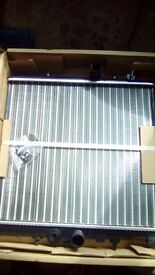 Radiator for Peugeot 206 for sale still in box never been fitted