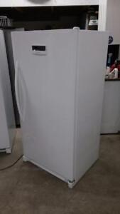 Upright Freezer Frigidaire like new, 60 Days Warranty and Free Delivery
