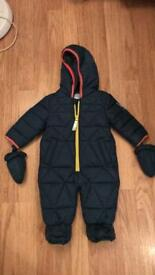 Ted baker snowsuit 3-6 months