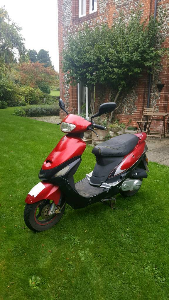 **REDUCED** 50cc moped scooter
