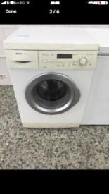 Bosch washing machine 7kg 1400rpm Full Working very nice 4 month warranty free delivery install.