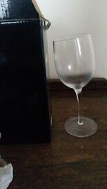 BRAND NEW NEVER USED 'wonky wine glass'.