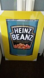 LARGE HEINZ BEANS PICTURE
