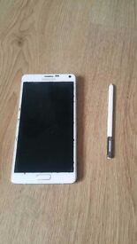 Samsung Galaxy Note 4 for repair or spare