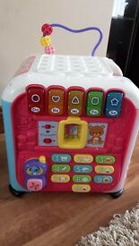 Vtech Discovery Cube (Pink) Baby Toy