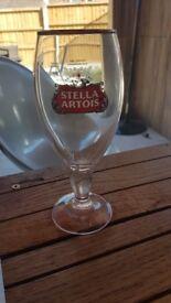 Various beer glasses