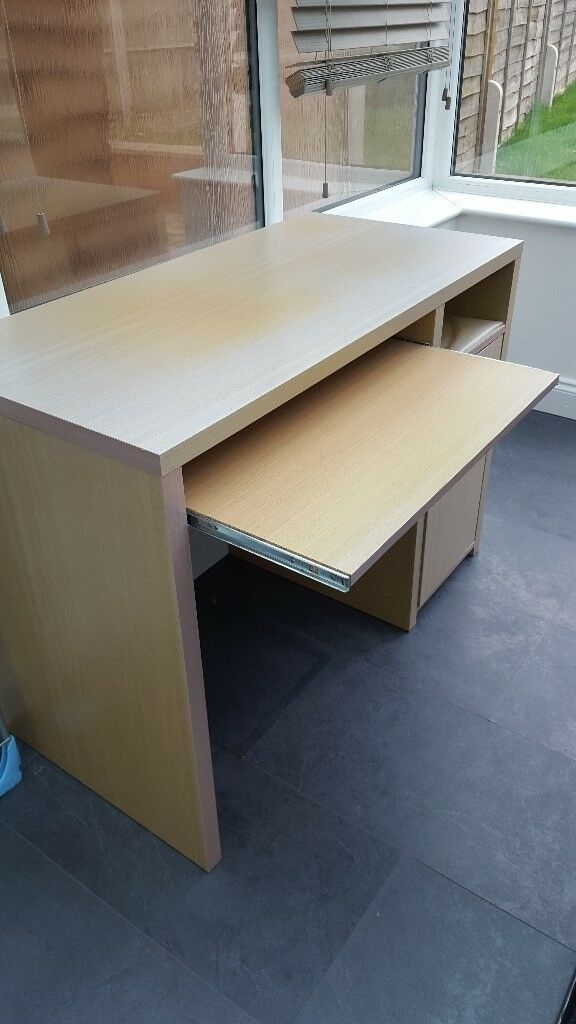 Office Desk With Pull Out Shelf