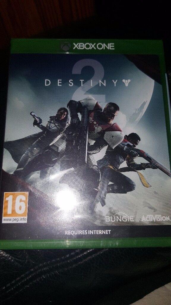 xbox one game destiny 2 brand bew sealed
