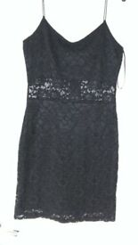 Black lace dress BNWT