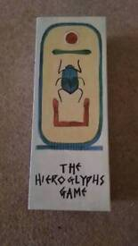 Hieroglyphs Board Games - in box, complete, excellent condition