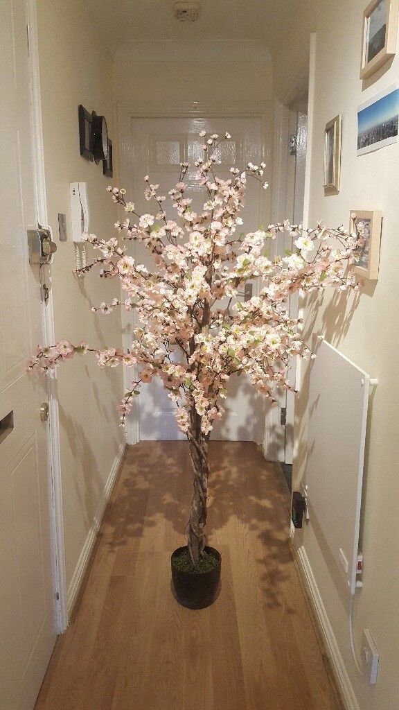 2 New Artificial Cherry Blossom Trees - Perfect for Wedding Decor