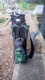 13 golf clubs with golf bag. Used but in good condition. Collection from Eye in Suffolk
