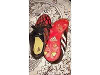 Adidas football trainers size1