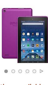 Fire amazon tablet