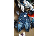 Mixed age bundle of clothes 0-2 years