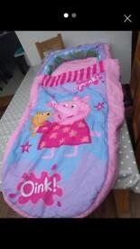 My first peppa pig ready bed