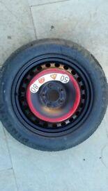 PIRELLI/Jaguar space saver wheel and tyre 125/85R16